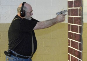 Retired Racine police officer discharges his firearm
