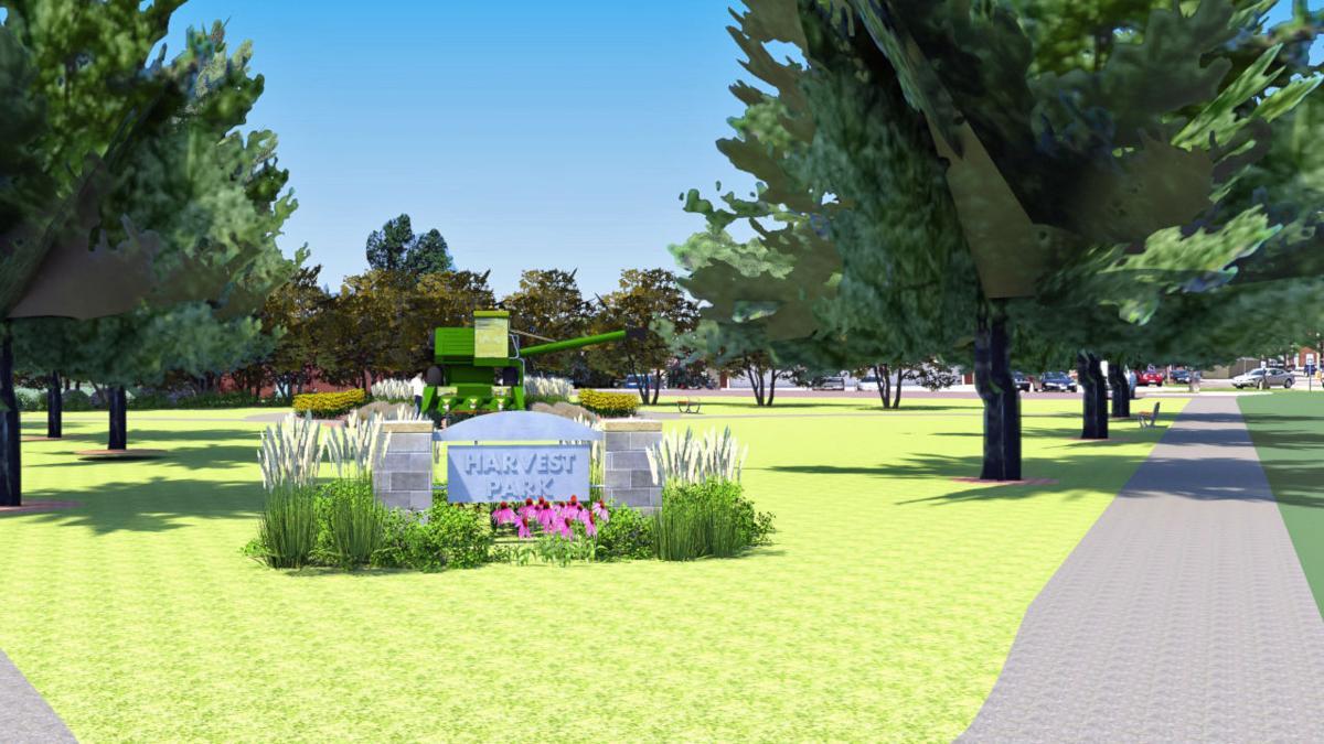 Rendering of Harvest Park