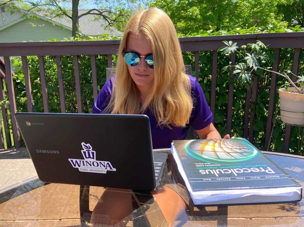 Ashley studies
