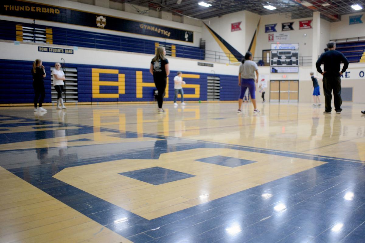 Baraboo High School gym