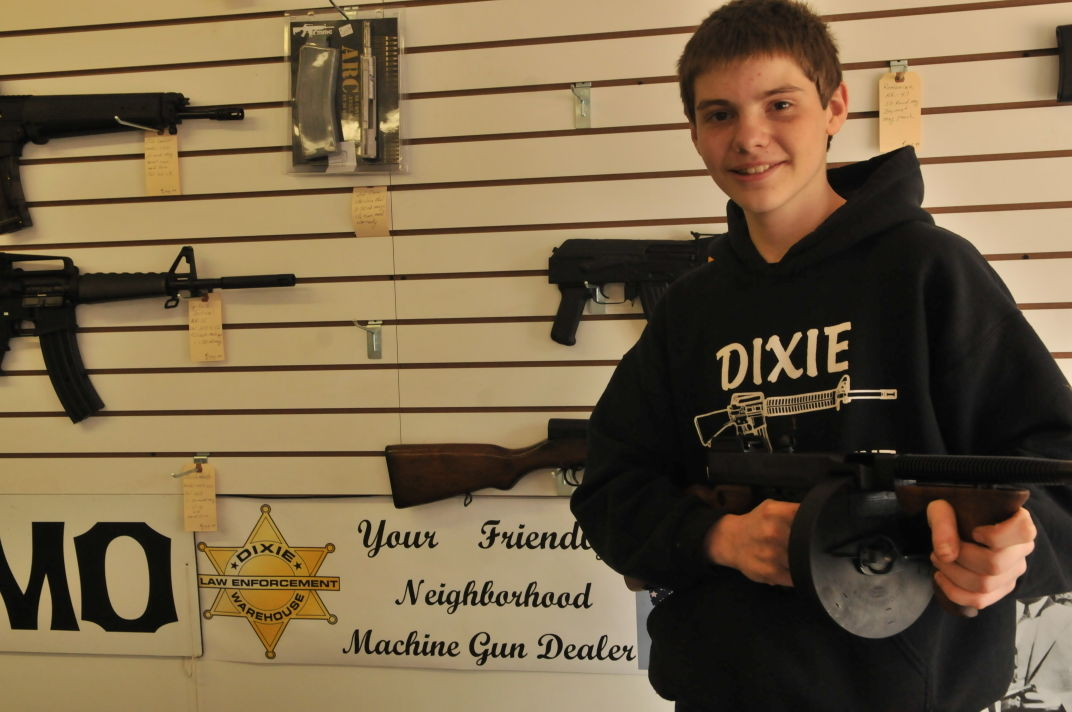Portage High School student turns love of firearms into a