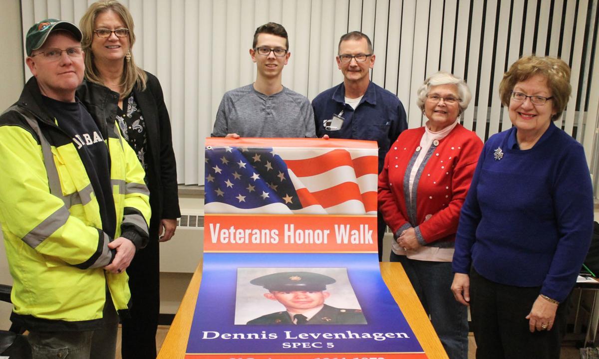 Veterans Honor Walk project meeting