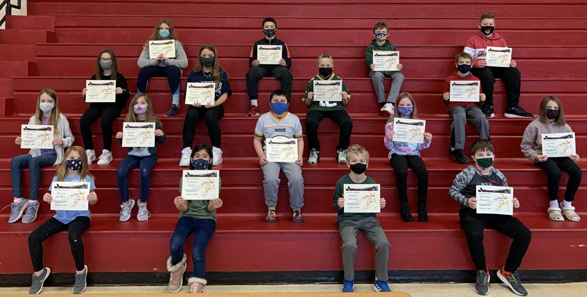 """Students recognized for trustworthiness """"A"""""""