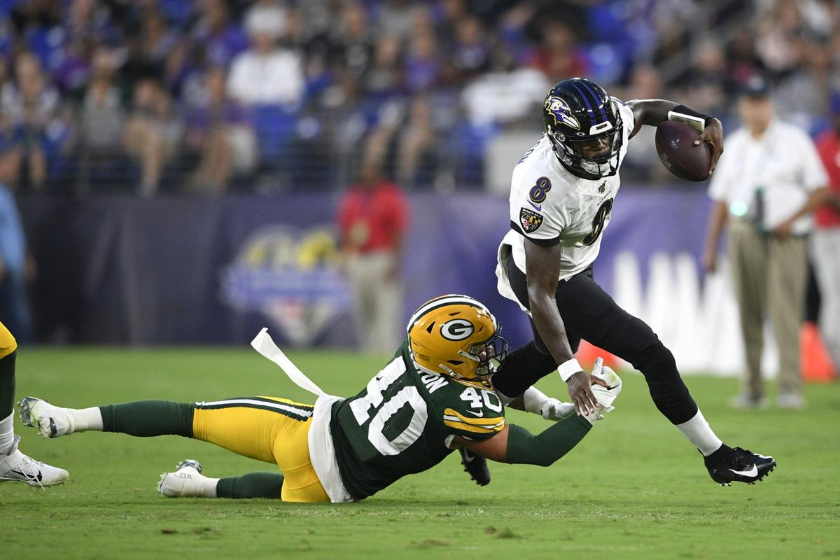 Packers Ravens Football