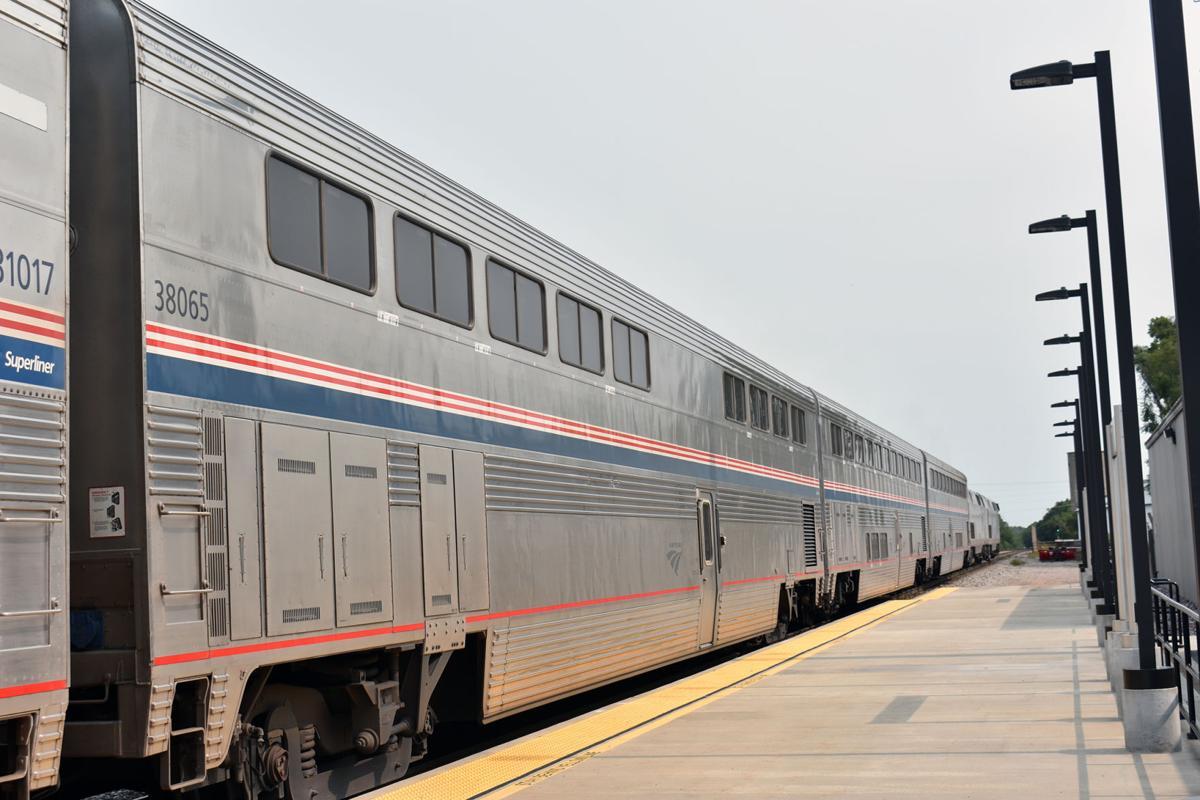 Amtrak station in Portage
