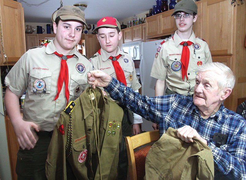 Matt The Scout Boy Credits Version 2: Doing Their Duty For 75 Years: Luetkens Donates 1940s