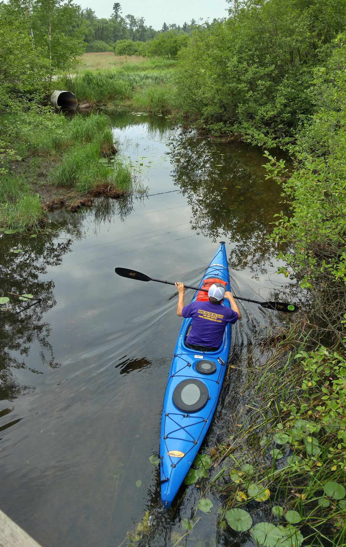 Man tries to set solo record for paddling Wisconsin River | Regional
