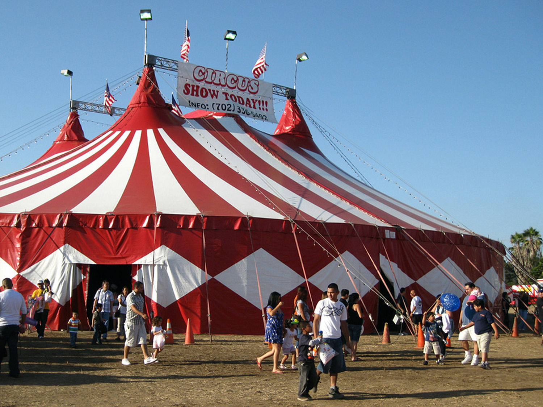 Big big top (copy) & Delivery issues delay Circus World big top tent raising   Regional ...