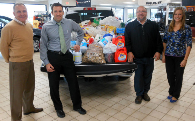 Baraboo Motors collects more than $3,000 for the Sauk County Humane Society animals