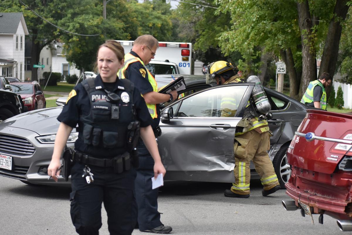 Officer Kalmerton on scene