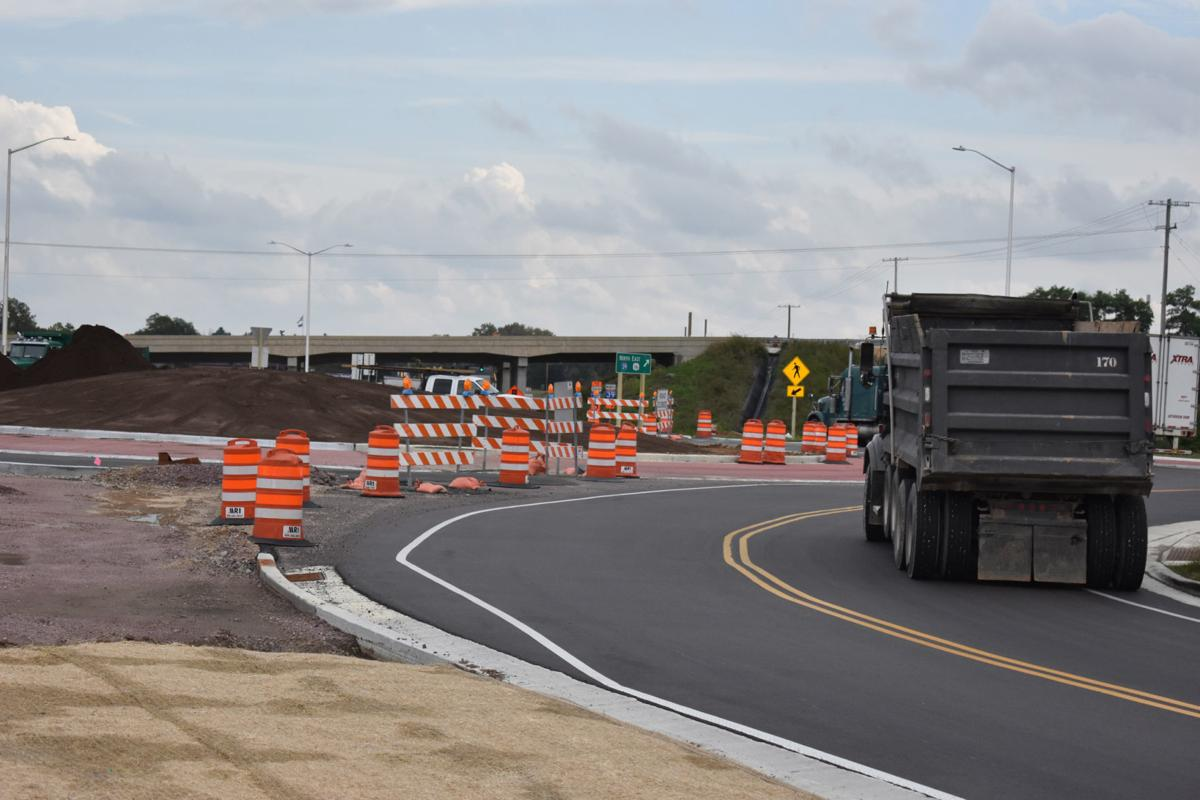 DOT nearly ready to open Portage's first roundabout to