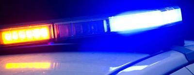 Police siren lights light bar squad car (horizontal crop)