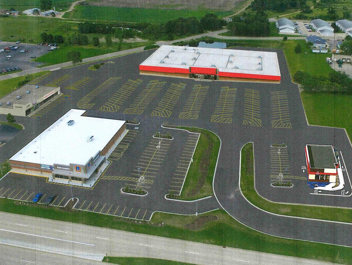 Kmart concept aerial
