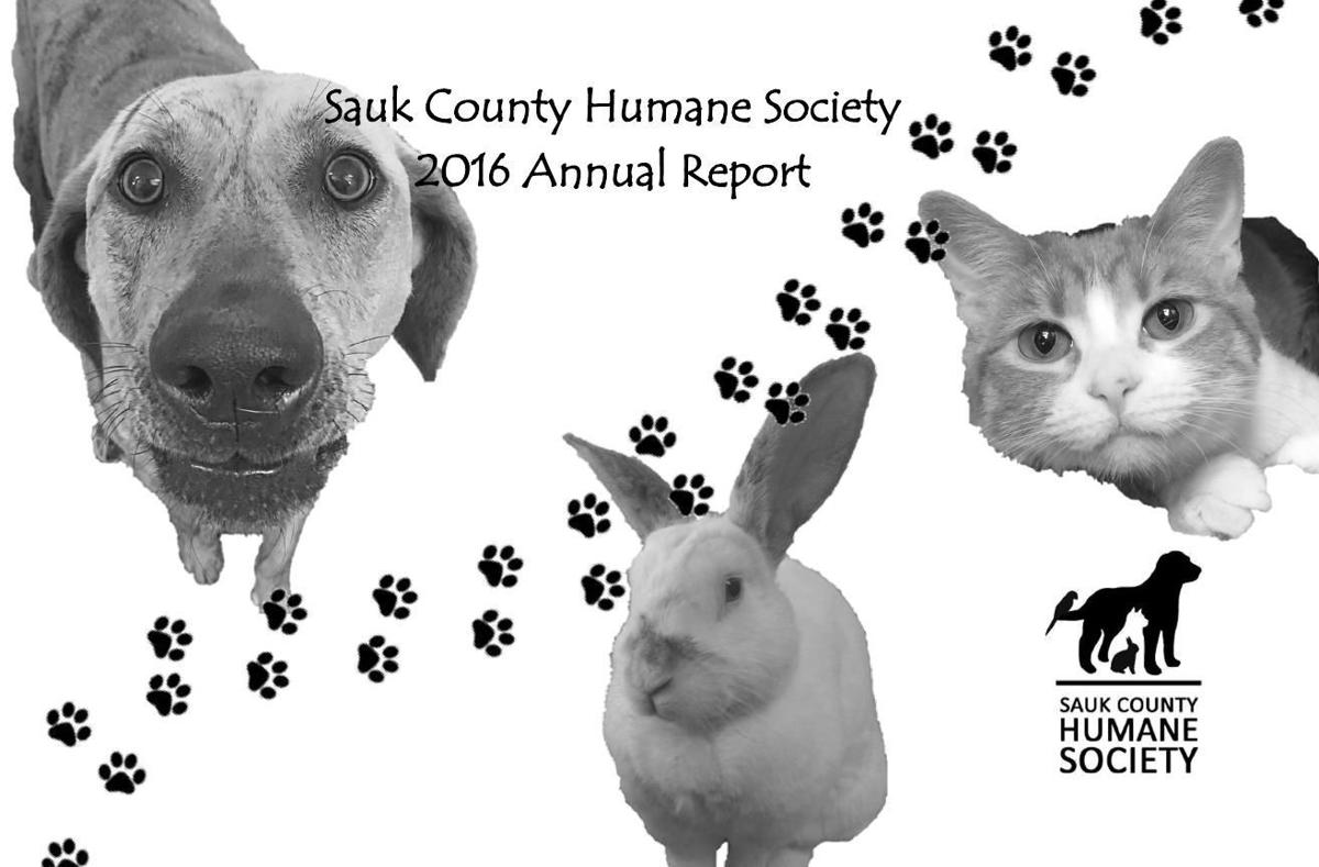 Sauk County Humane Society 2016 Annual Report