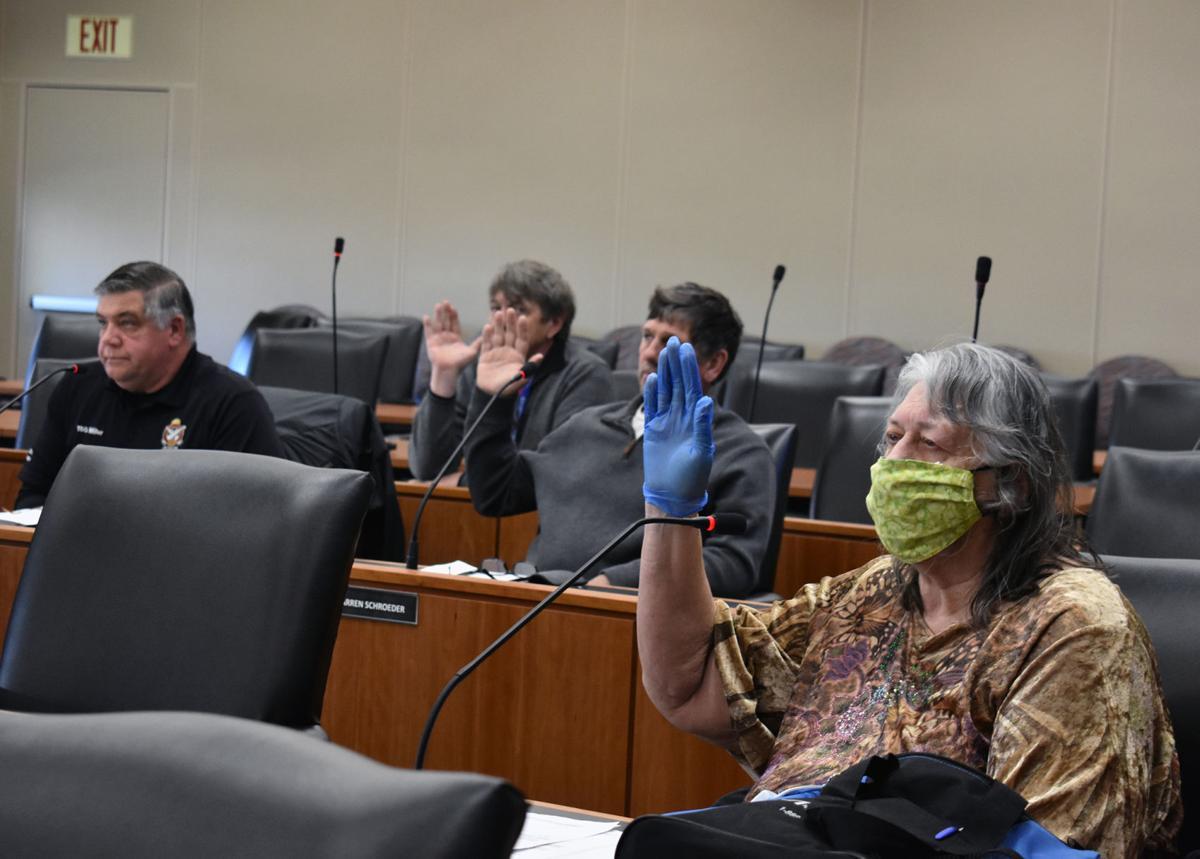 Columbia County supervisors sworn in
