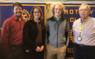 January Rotary student of the month