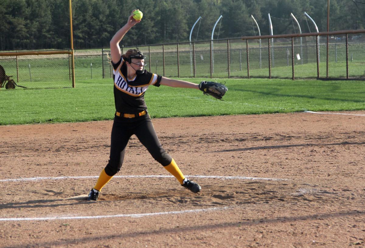 McKenzie Baeseman pitches