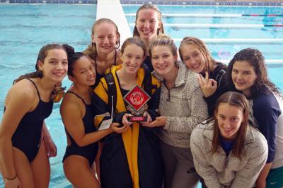 Baraboo girls swimming