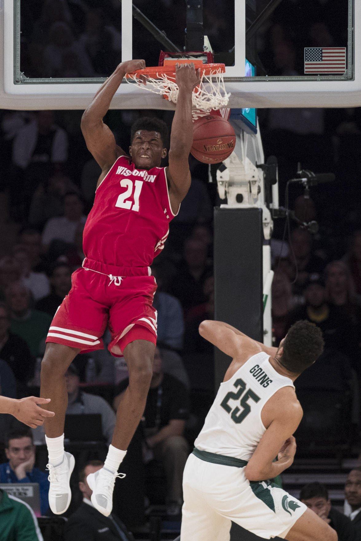 B10 Wisconsin Michigan St Basketball