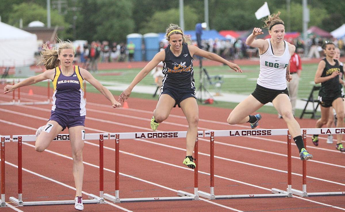 Karina Elford 300 hurdles
