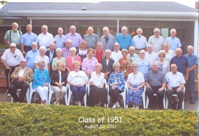 Reedsburg High School class of 1951 reunion