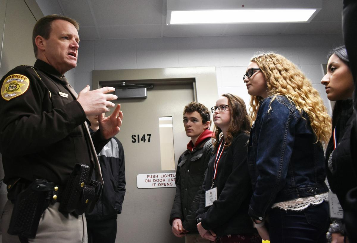 FLAG students get jail tour