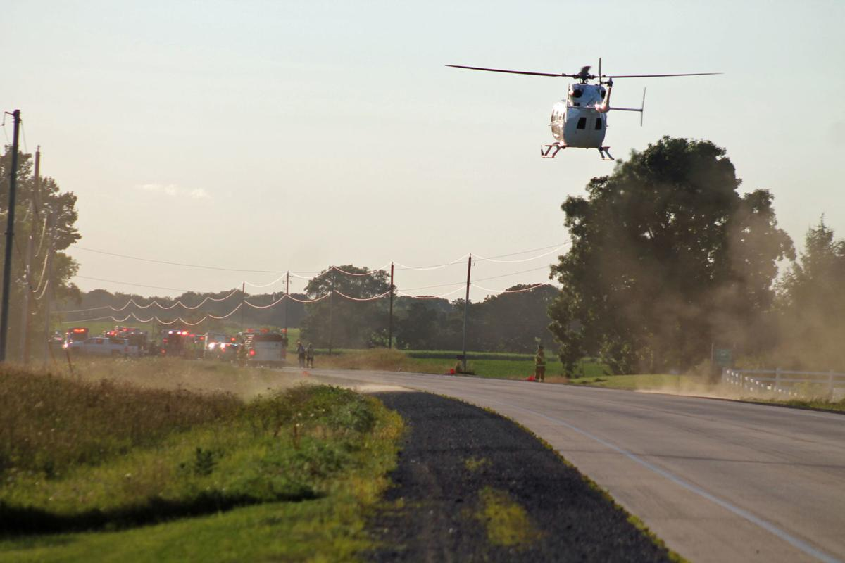 One killed, five injured in Dodge County crash Tuesday