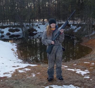 Youth turkey hunter