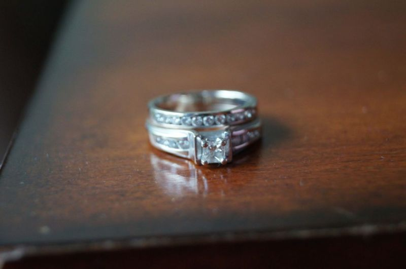 Laura Hook's diamond ring that was found at Castle Rock Lake