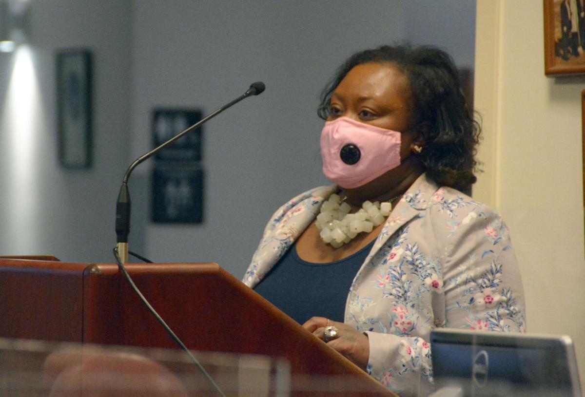 Public health officers speaks