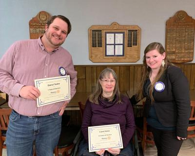 Portage Rotary Club members recognized for service
