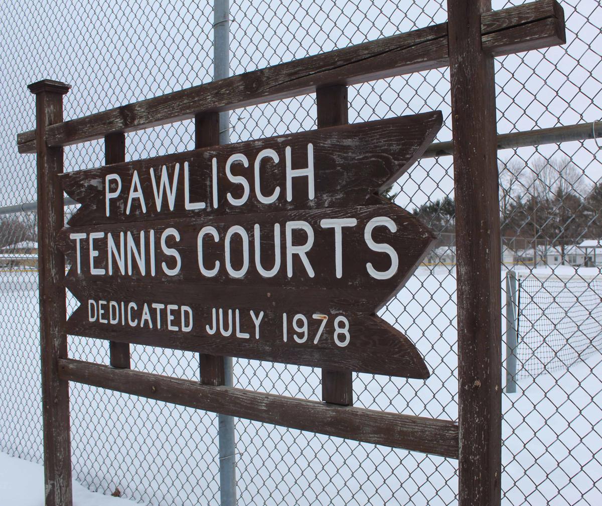 Oak Park tennis courts
