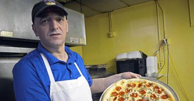 Mama Mia menu features authentic family recipes from Macedonia in downtown Baraboo