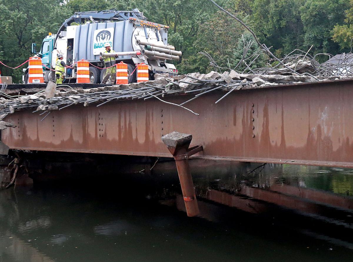 Damaged public infrastructure
