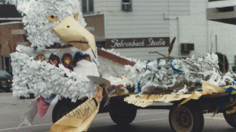 The 1988 Mauston High School Senior Class Float