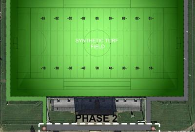 Proposed Lodi High School stadium