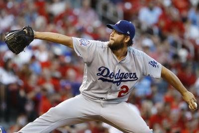 Clayton Kershaw pitching, AP photo