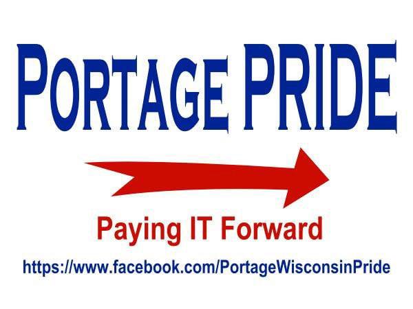 Portage PRIDE logo