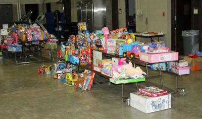 Toys donation