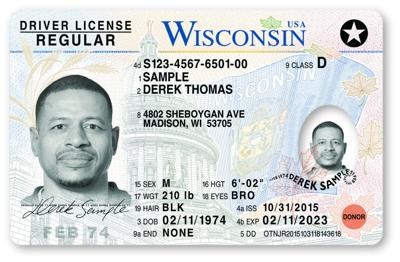 New Wisconsin driver's license (copy)