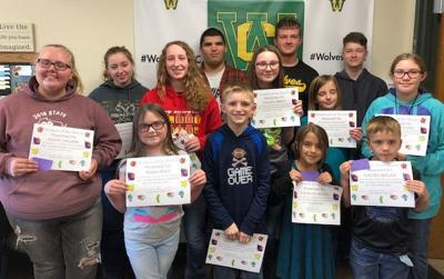 Wonewoc-Center October students of the month