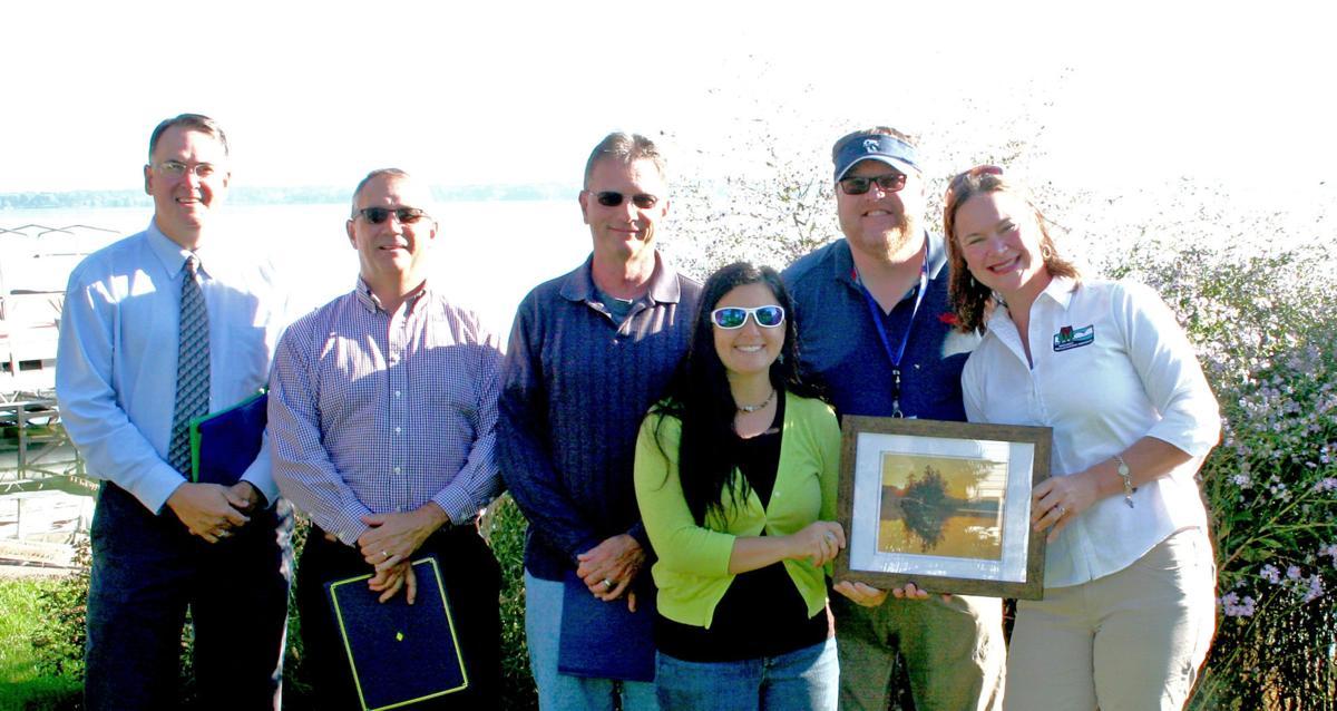Healthy Lakes award