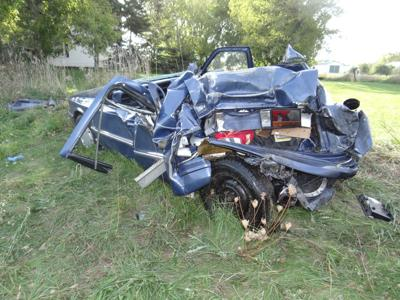 One injured in highway crash | Regional news | wiscnews com