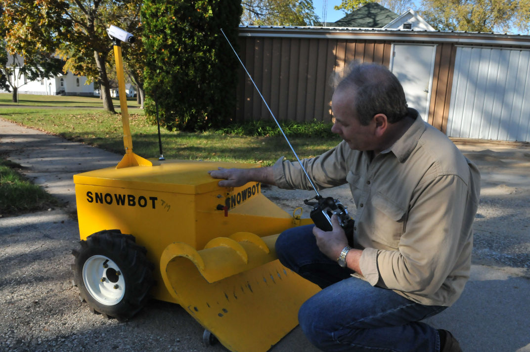 The Future Of Snow Removal Rio Inventor Hopes To Bring Remote