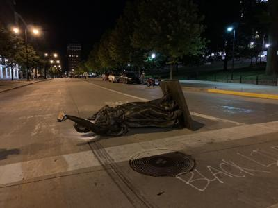 EDITORIAL: Stop the senseless violence Downtown, and put the statues back up