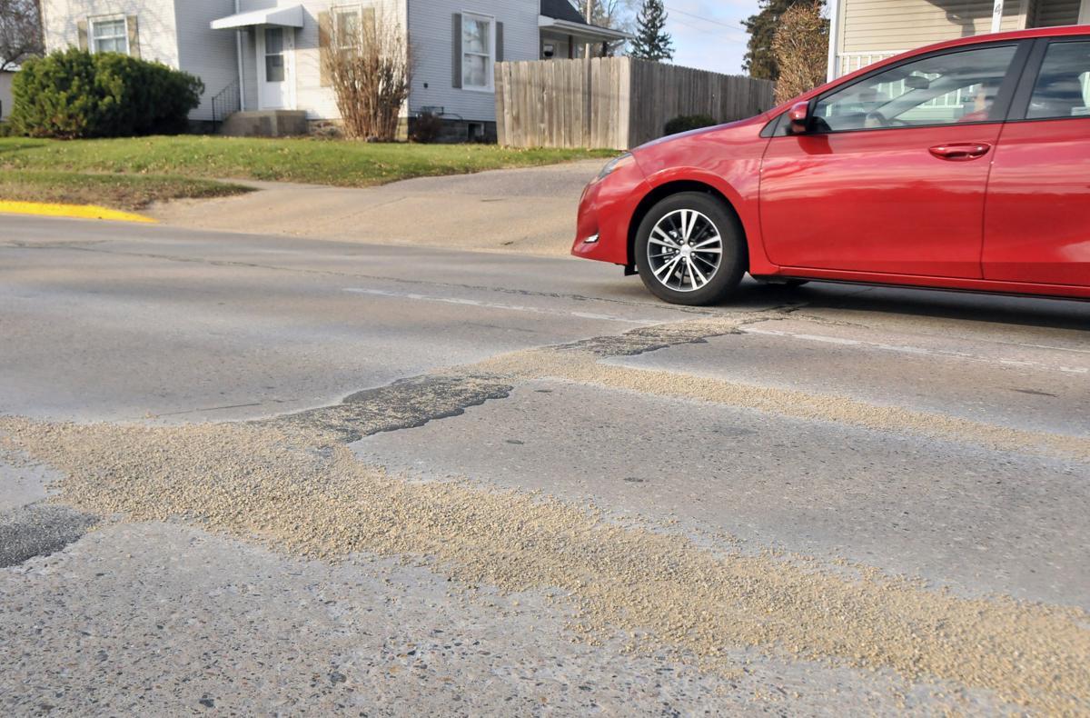 Linn Street gravel