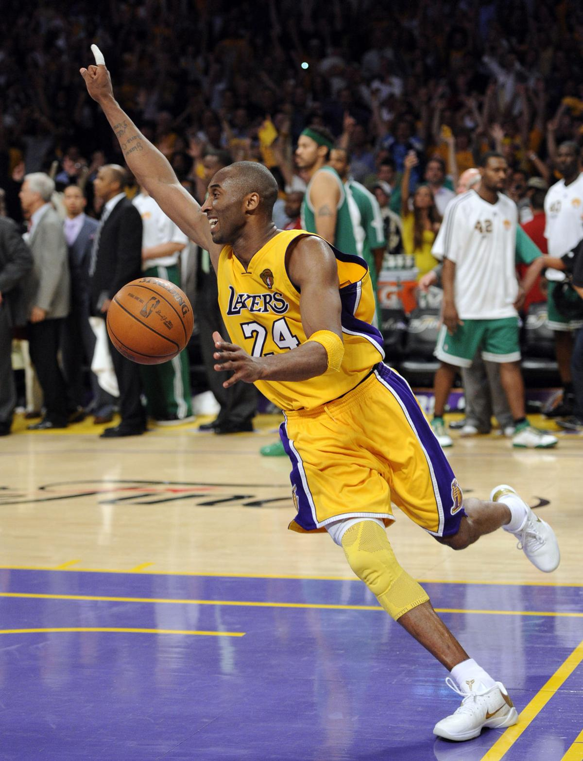 buy popular 61631 10aaa Lakers edge Celtics in Game 7, win 16th title  Area sports .
