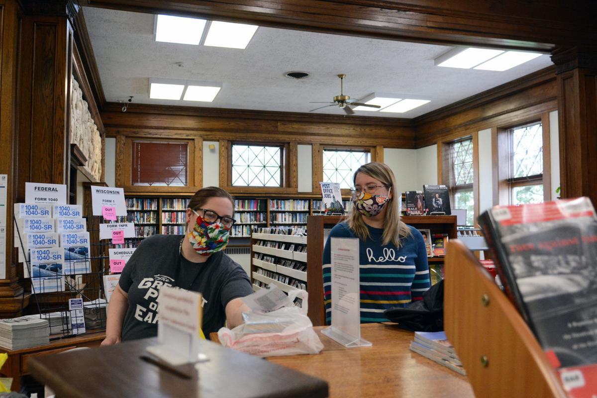 Baraboo Public Library Director Jessica Bergin