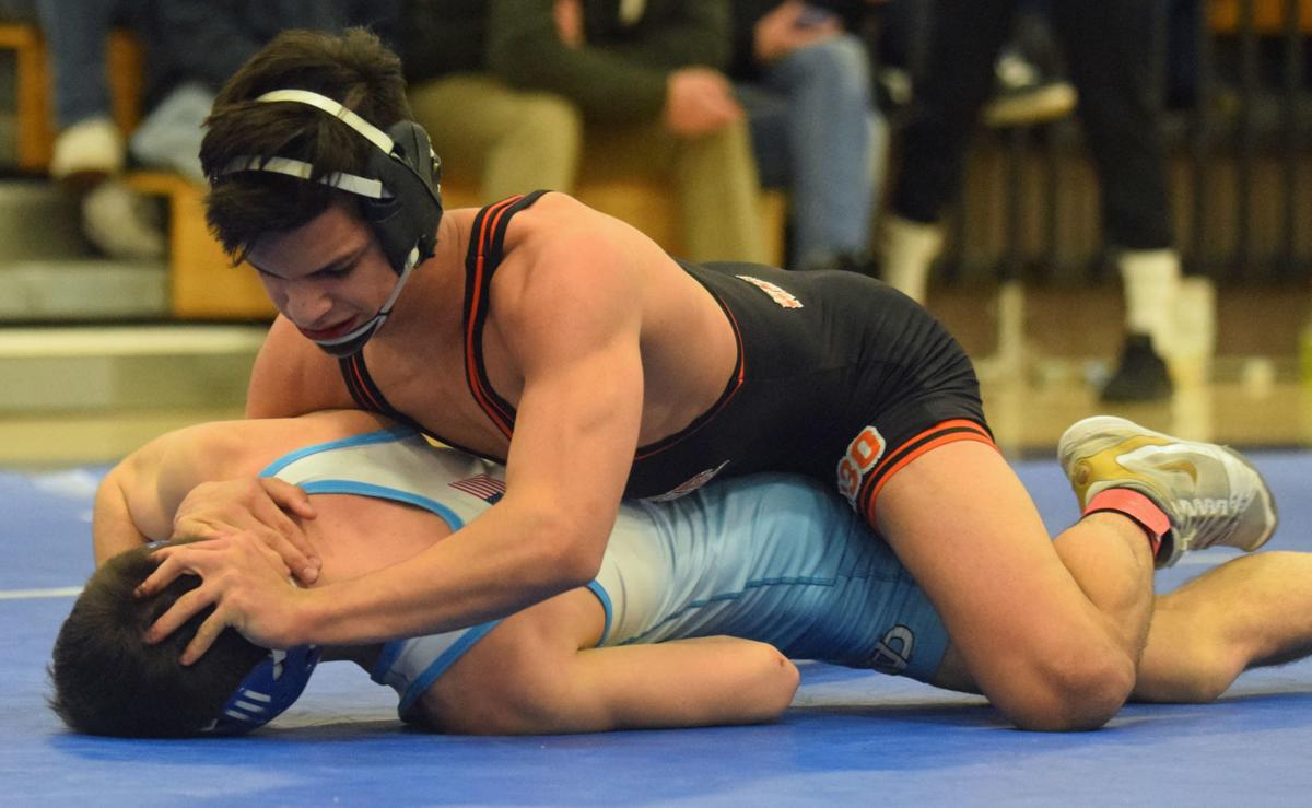 Prep Wrestling Portage Trio Capture Sectional Titles To Qualify For State Meet Badger North Wiscnews Com