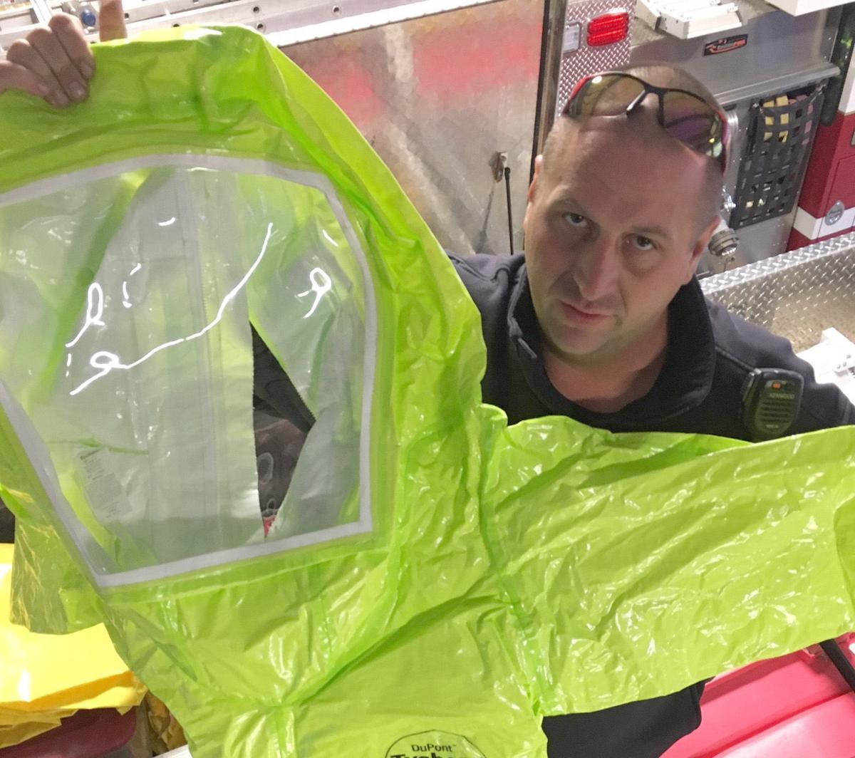 Region's first responders take precautions against opioid menace